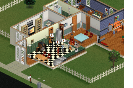 Sims 1 Game first version of the popular game series